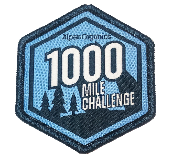 Alpen 1000 Challenge Patch